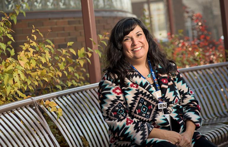 Lori Kirkaldy - aboriginal cancer navigator