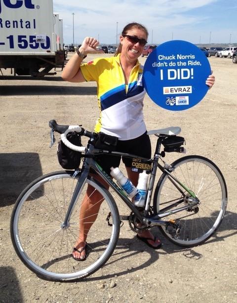 Coreen Spencer - Enbridge Ride to Conquer Cancer
