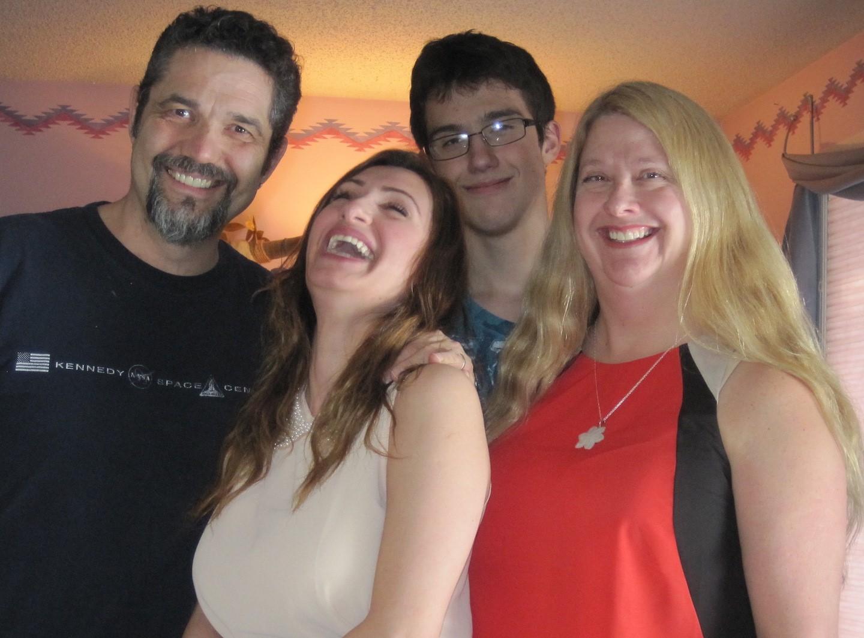 Ian Robinson and family