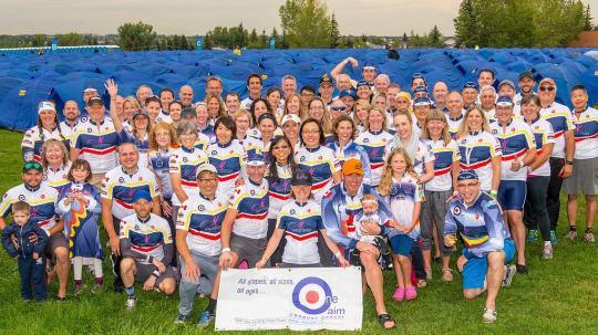 Team One Aim - Enbridge Ride to Conquer Cancer
